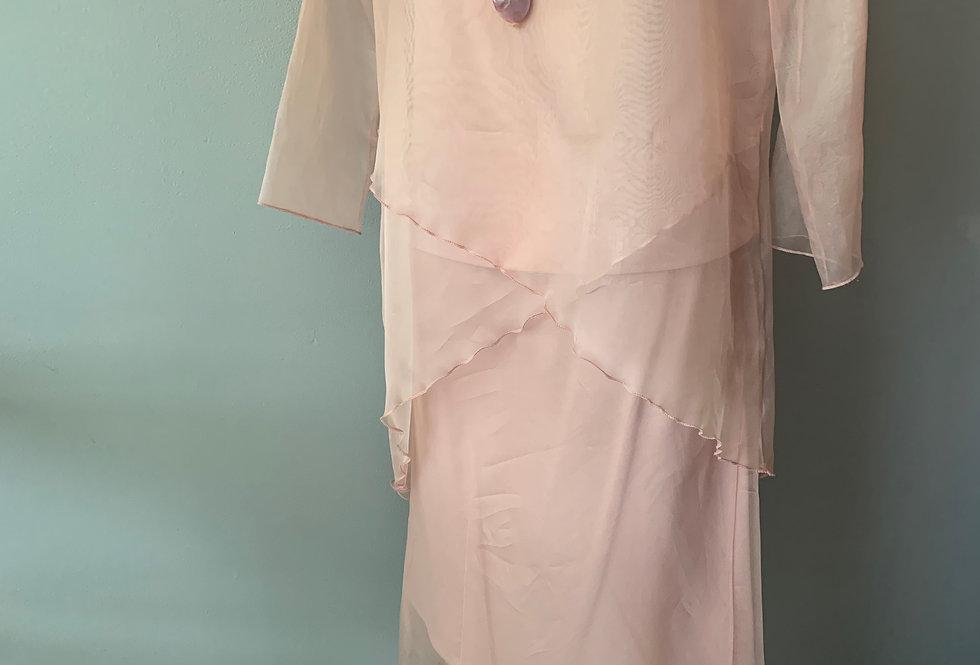 Silk Organza Bias Skirt