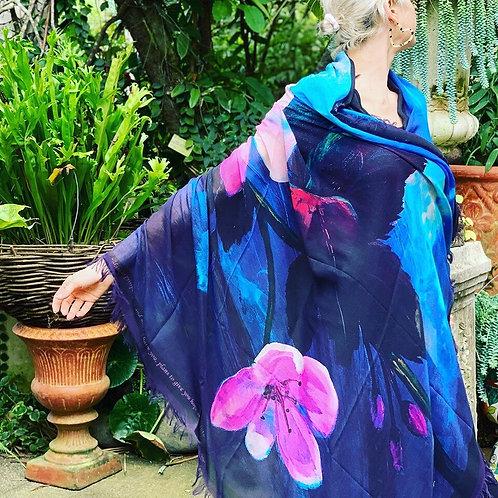 Awakened Joy Luxury Silk Scarf