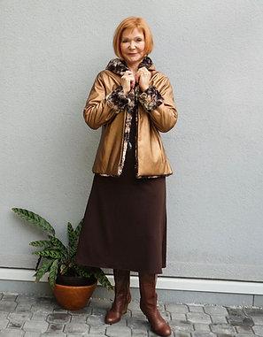 Reversible Faux Fur Jacket
