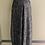 Thumbnail: Silver sparkle knit Harem Pant