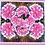 Thumbnail: A Cheerful Heart - Peonies Silk Scarf