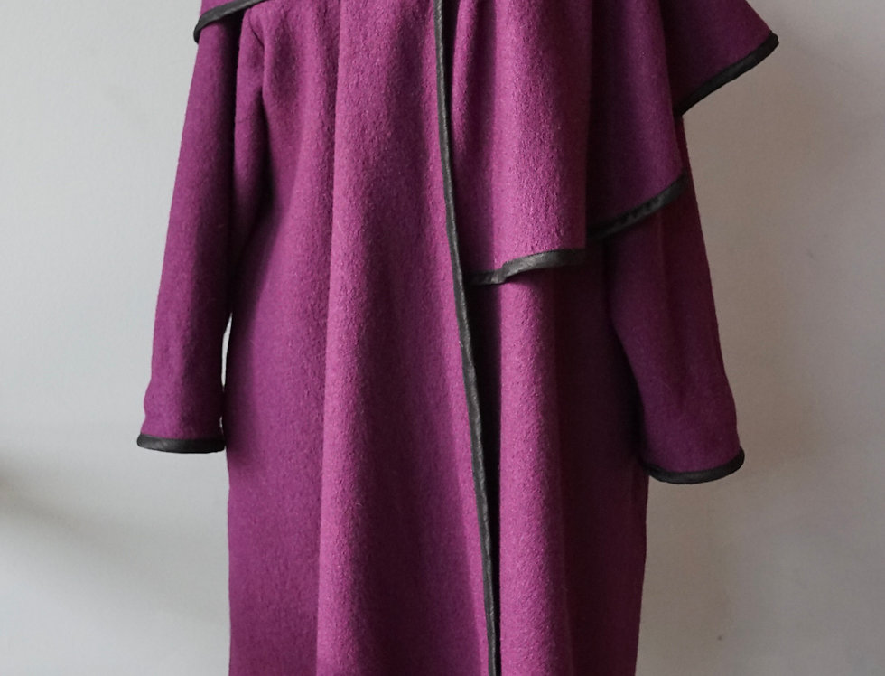 Oversize Collar Coat Jacket