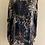 Thumbnail: Animal print silk/ viscose loose O/S Tunic