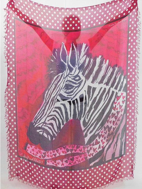 Healing stripes Luxury Silk Scarf