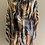Thumbnail: Tiger print silk/ viscose loose O/S Tunic.