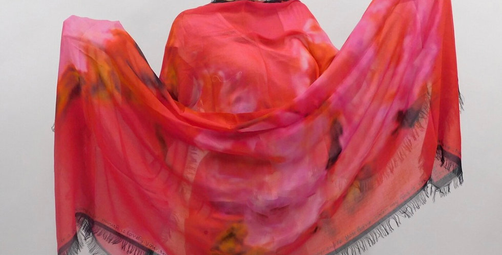Pure Passion Luxury Silk Scarf