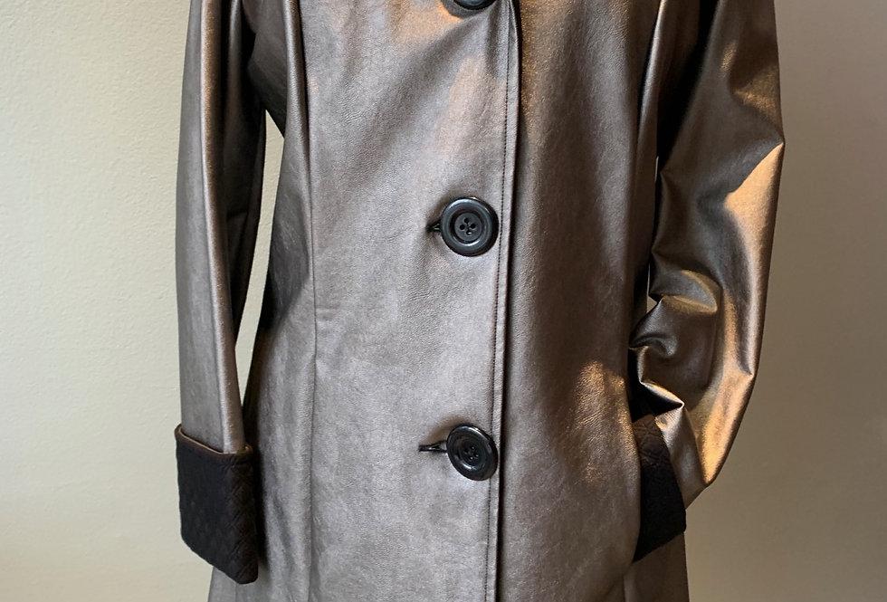 Classic Raincoat (Pewter)