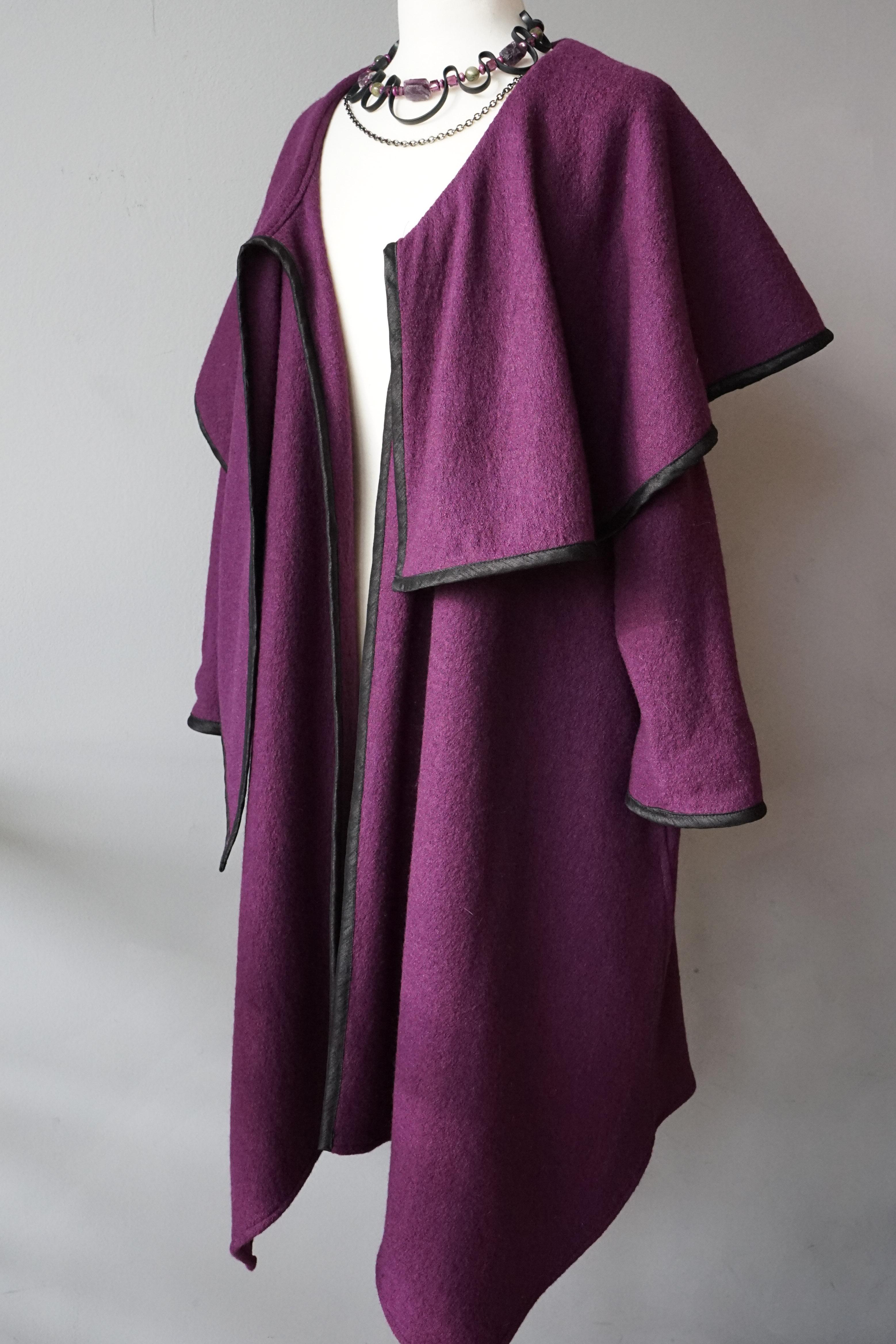 Oversize Collar Coat