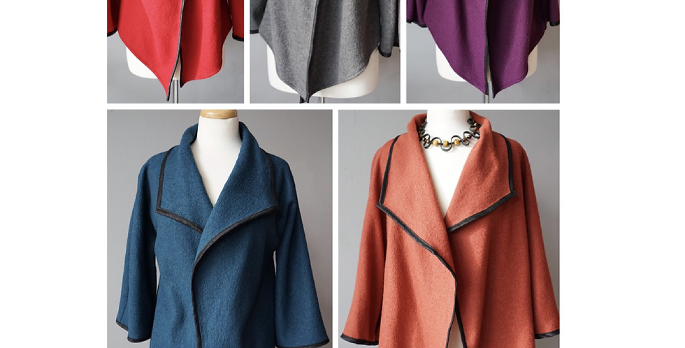 The Shorty Wool Jacket- Several Colours