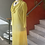 Thumbnail: Lemon Yellow Hand Dyed  Bamboo Dress
