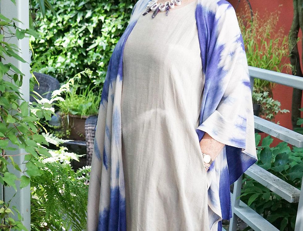 A-Line Linen Dress