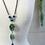 Thumbnail: Turquoise Agate Pendant Necklace