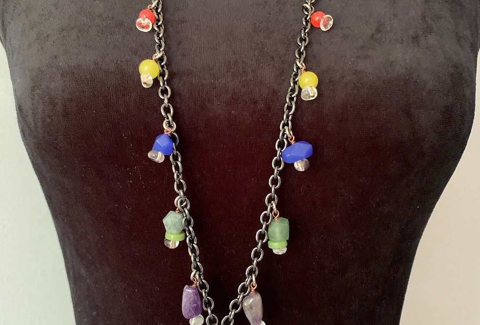 Fancy Charm Necklace