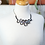 Thumbnail: Crystal & Rubber Wave Necklace