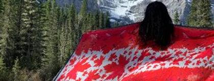 Canada Day Silk Scarf