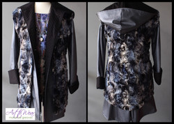 Reversible Faux Fur Vest & Raincoat