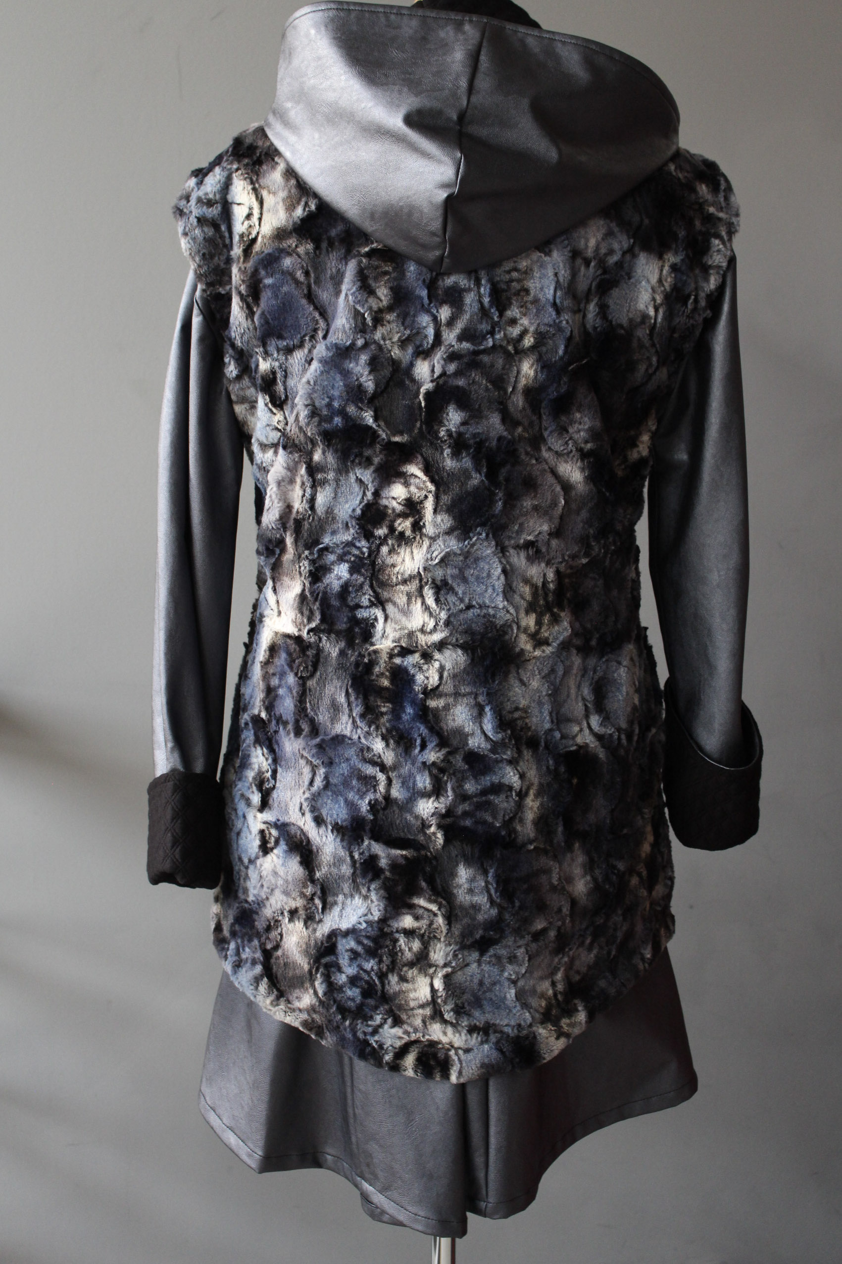 Reversible Fur Vest & Raincoat