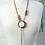 Thumbnail: Tibetan Bead Lariat Necklace
