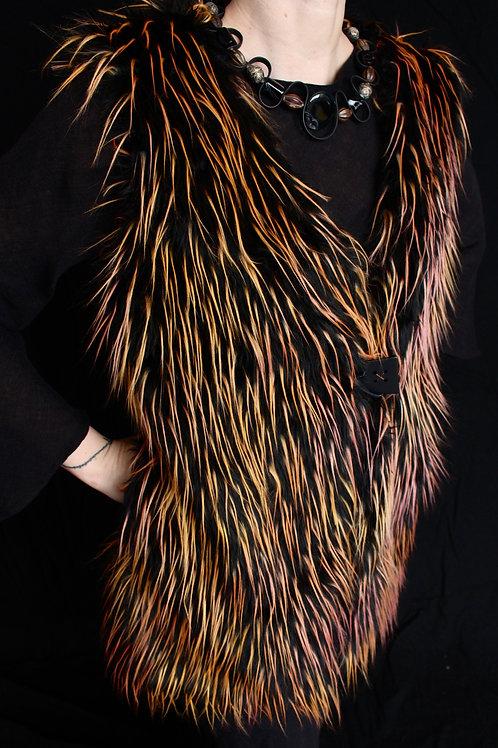 Faux Fur Semi Fitted Vest
