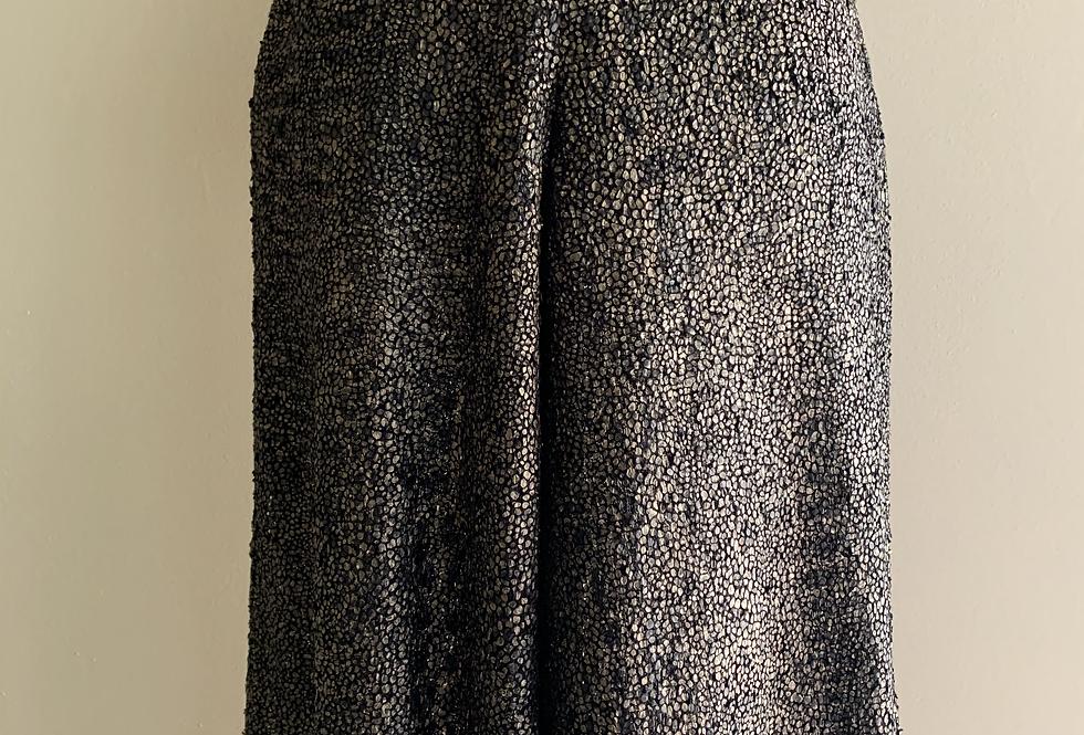 Antique Gold sparkle knit Harem Pant