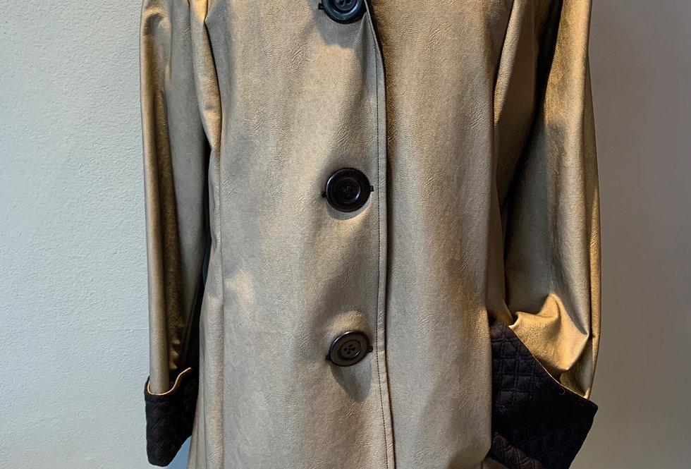 Classic Raincoat (Soft Gold)