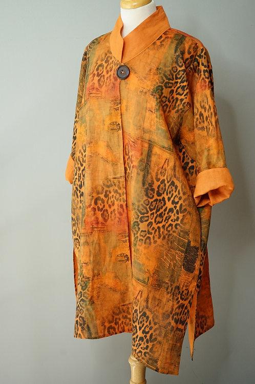 Hand Dyed Venitian Safari Coat