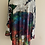 Thumbnail: Multi Colour Silk Devore O/S Tunic