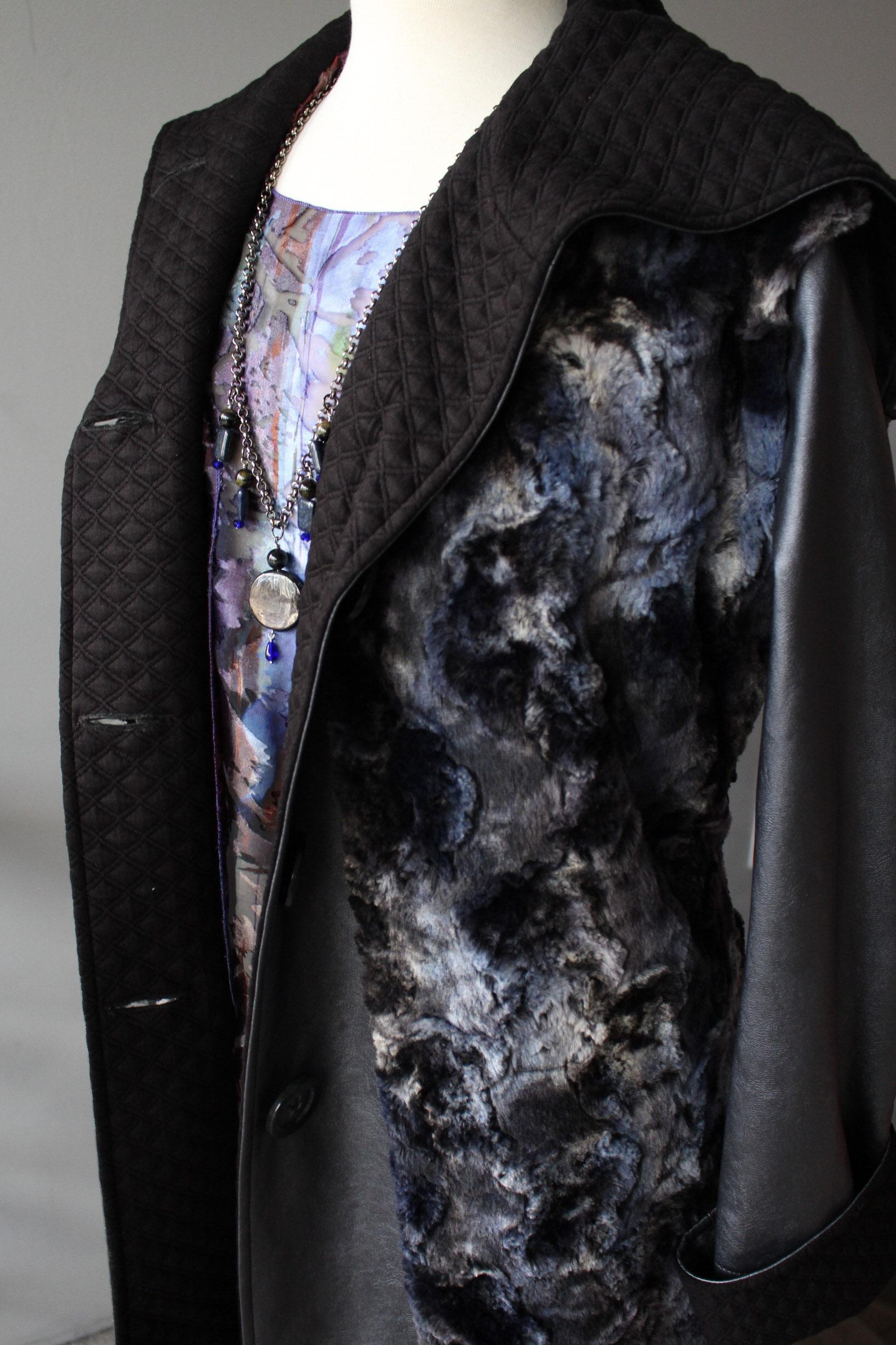 Fur Vest & Raincoat Details