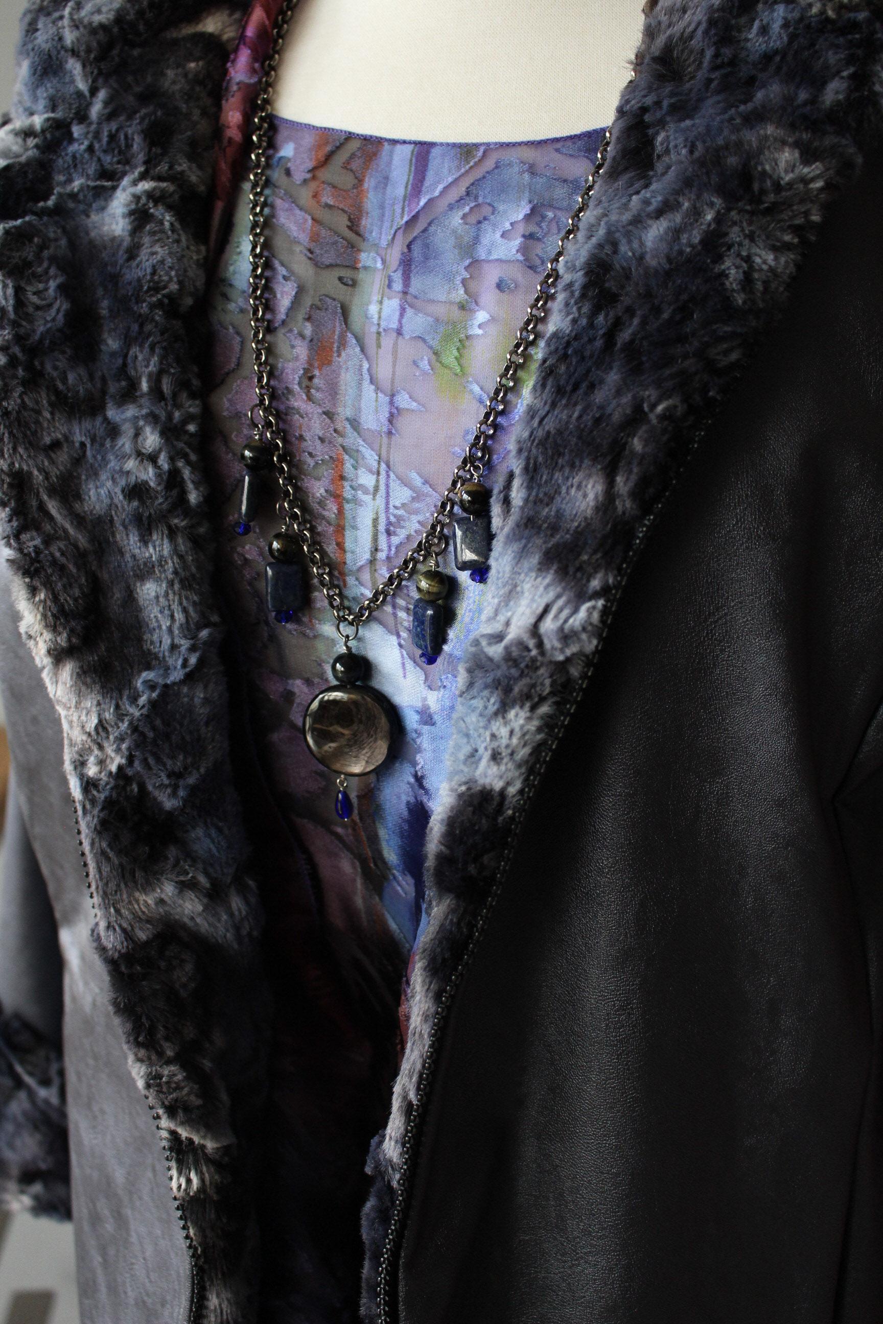 Art to Wear Drop Necklace