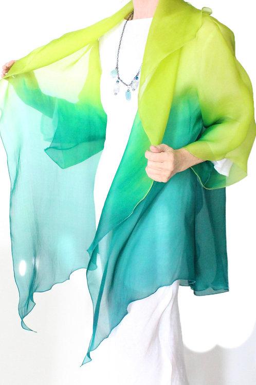 copy of Two Toned Silk Organza Jacket