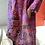 Thumbnail: Fuchsia Pink Hand Dyed Linen Animal Dress
