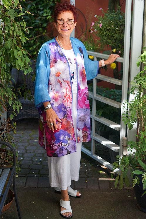 Queen Bee Linen Kimono Coat