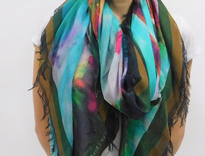 Tree of Life Luxury Silk Scarf