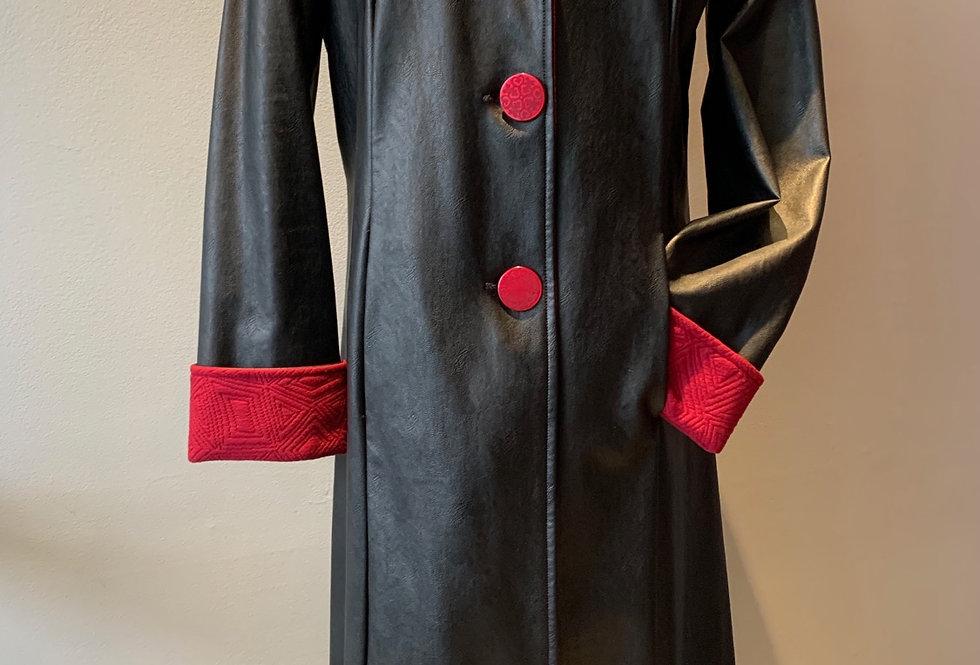 Long Black Raincoat