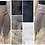 Thumbnail: DOUBLE LAYER CROPPED LINEN PANT