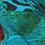 Thumbnail: Hand Dyed Animal Print Linen Tunic