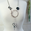 Thumbnail: Crystal & Rubber Wave Lariat