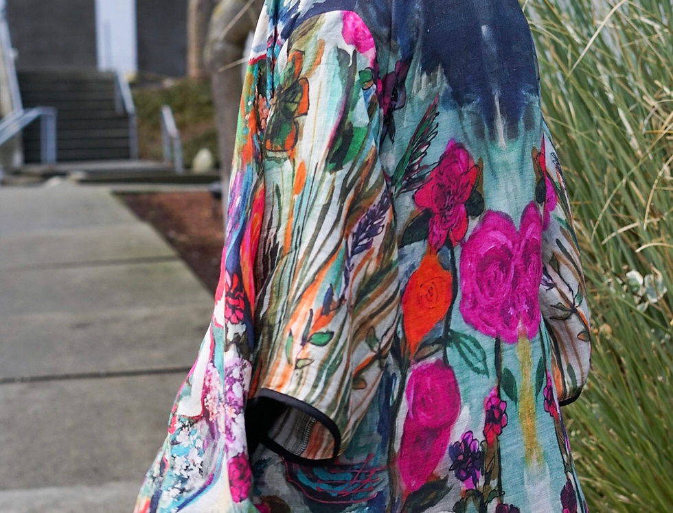 Art to Wear Kimono Coat