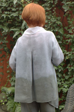 Slate white jacket back view