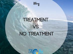 Treatment vs No Treatment for Low Back Pain (LBP)