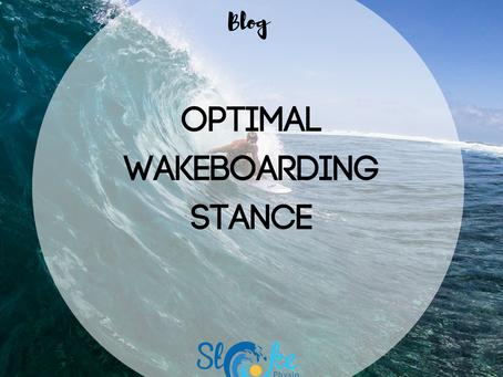 Optimal Wakeboarding Stance