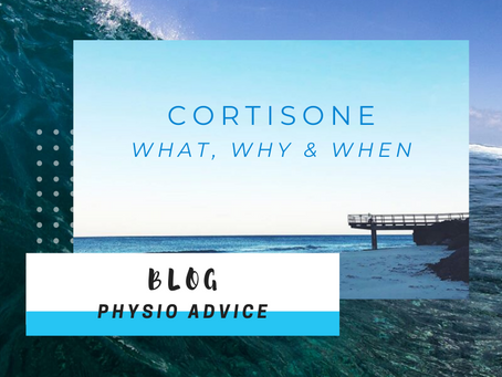 Cortisone - What, Why & When