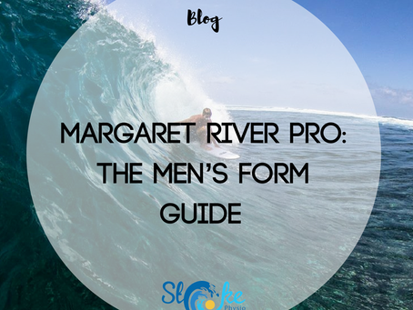 Margaret River Pro: The Men's Form Guide