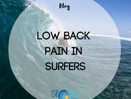 Low Back Pain in Surfers