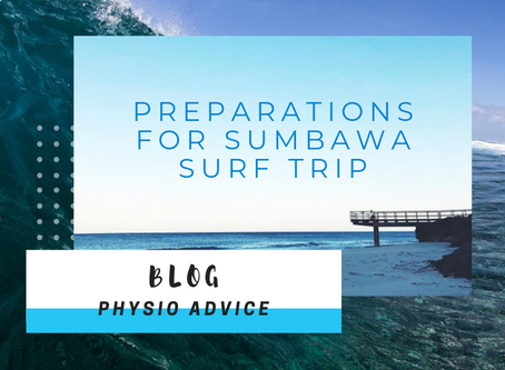 Preparations for Sumbawa Surf Trip