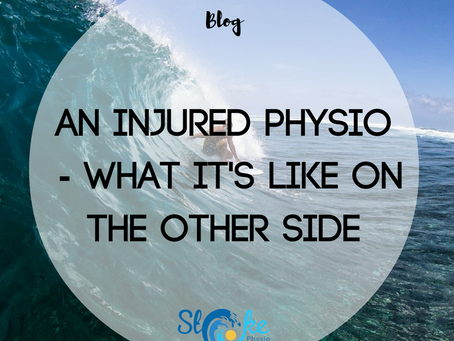 An Injured Physio - What It's Like From The Other Side