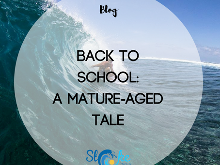Back To School - A Mature-Aged Tale