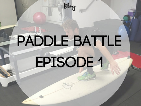 Paddle Battle – Episode #1