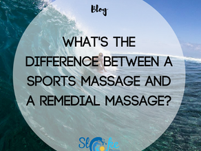 What's The Difference Between a Sports Massage and a Remedial Massage?