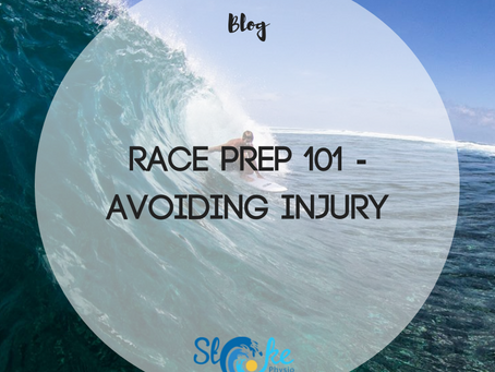 Race Prep 101 - Avoiding Injury